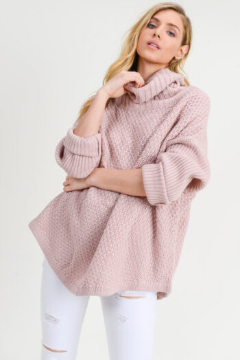 Doe and Rae Muave Sweater